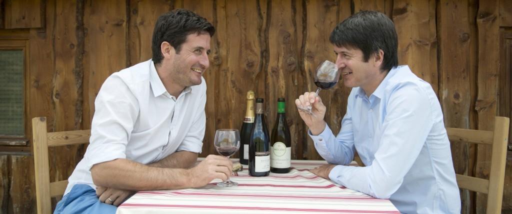 Benoit et Bastien Gallienne d'Emy Vintners - Dégustation
